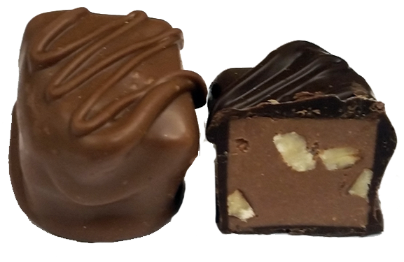 Chocolate Nut Truffle Cut