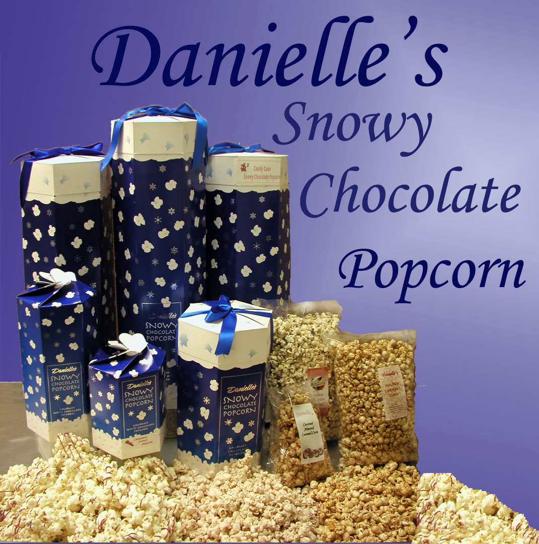 Snowy Popopcorn and other types of popcorn